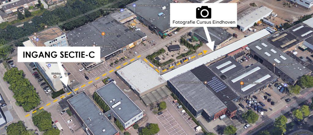 routebeschrijving-fotografie-cursus-eindhoven